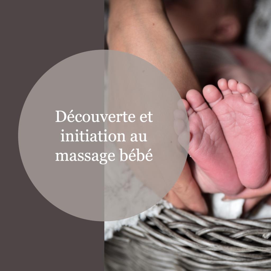 Découverte et initiation au massage bébé